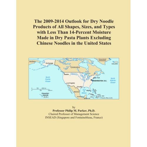 The 2009-2014 Outlook for Dry Shaped Pasta in Japan Icon Group International