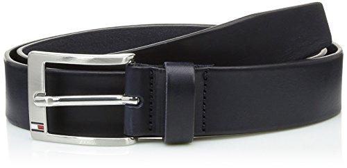 Tommy Hilfiger - NEW ALY BELT, Cintura da uomo, blu (blau  (midnight 403)), 105 cm (taglia produttore: 105)