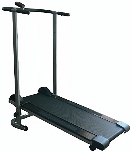 Tapis Roulant Fitness manuale Pieghevole con Display Digitale - Richiudibile salvaspazio