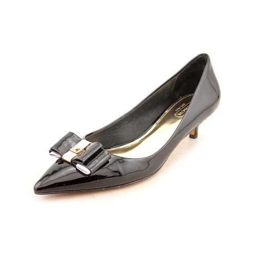 Coach Women's Mandy Pointed Toe Pumps in Black Size 10