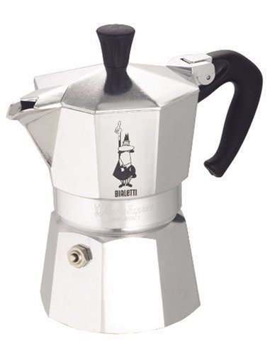 Moka Express Stove Top Traditional Italian Espresso Coffee Maker Pot Pot - 3 Cup