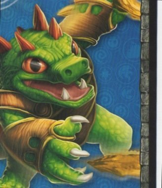Skylanders Giants No. A6 PUZZLE - Puzzle Card Individuelle Trading Card