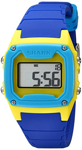 Freestyle Unisex 101806 Shark Classic Digital Yellow Blue Case Watch (Shark Freestyle Watches compare prices)