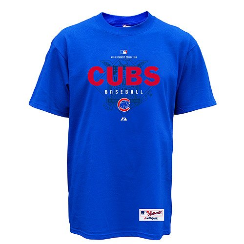 Chicago cubs momentum heavyweight tee majestic tees shirts for Cheap t shirt printing chicago