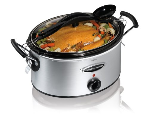 Hamilton Beach Stay or Go 6 Quart Slow Cooker