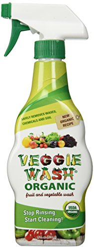 Veggie Wash Organic Fruit and Vegetable Wash, 16 Fluid Ounce (Organic Fruit And Vegetable compare prices)