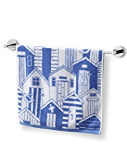 Beach Hut Towel
