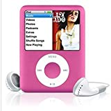 "LIGHTAHEAD® 3RD GEN 1.8 "" LCD MP3 MP4 PLAYER WITH BUILT-IN 8GB FLASH MEMORY FM RADIO VIDEO PLAYER AVAILABLE IN DIFFERENT COLORS (PINK)"