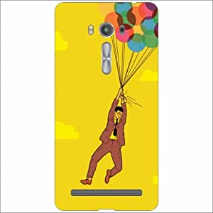 Asus ZenFone 2 Laser ZE550KL Back Cover - Silicon Catch Out Designer Cases