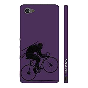 Sony Xperia Z5 Compact Ninja Rides - Purple designer mobile hard shell case by Enthopia