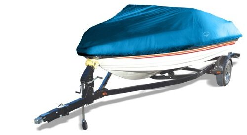 Offshore Easy Slip On Mooring Boat Covers by Wake (Model A) (Blue, Fits: 12 to 14-Feet)