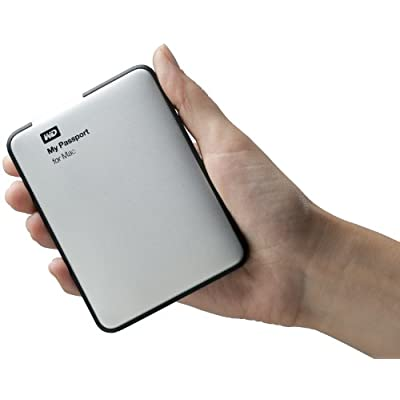 WD My Passport for Mac 500GB Portable External Hard Drive Storage USB 3.0 (WDBLUZ5000ASL-NESN)