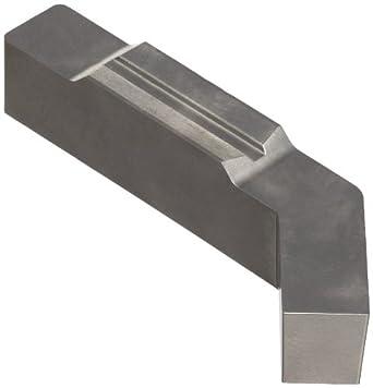 "Sandvik Coromant Uncoated Carbide Blank Insert, H10F Grade, LX123L1 Shape, 0.236"" Width (Pack of 5)"