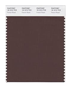 PANTONE SMART 19-1012X Color Swatch Card, French Roast