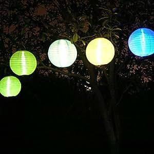 Amazon WCK LED Solar Lantern Hanging Light Garden