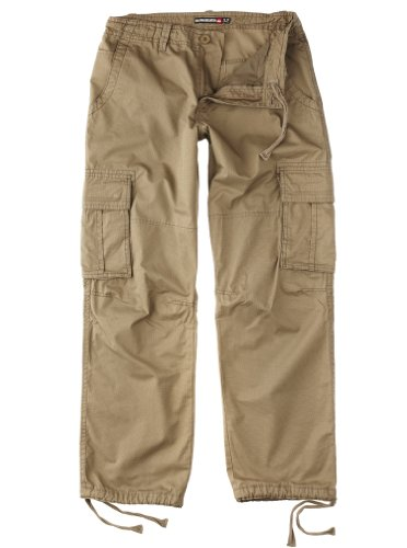 Quiksilver Marshes-KPMPT112 Relaxed Men's Cargo Trousers Elmwood W32 IN x L32 IN