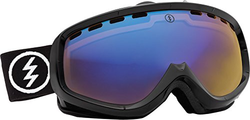 Electric Egk Snow Goggle, Gloss Black, Yellow/Blue Chrome
