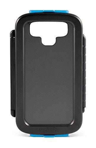 Runtastic Bike Case 2.0, Custodia Protettiva per Bicicletta per iPhone 4/4s/5/5s/5c/6 e Samsung Galaxy S3/S4/S5 e altri, Nero