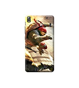 EPICCASE Premium Printed Back Case Cover With Full protection For Lenovo A7000 / K3 Note (Designer Case)