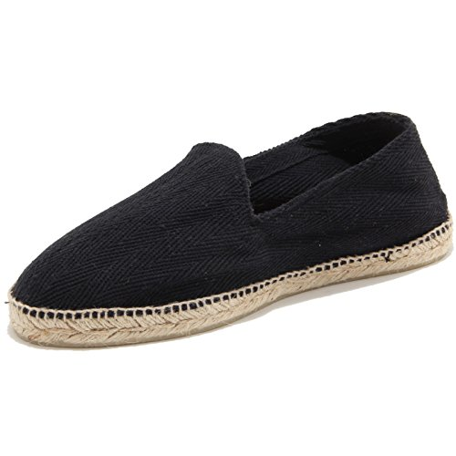 46043 espadrillas NERO LANEUS COUSU MAIN mocassino scarpa uomo loafer shoes men [42]