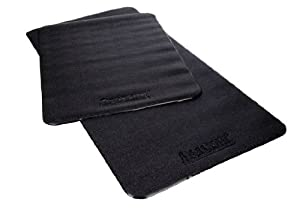 "Aeromat Varnish Surface Treadmill Mat - 1/4""x3'x6' - Black"