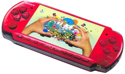 PlayStation Portable - PSP Konsole Slim & Lite 3004, red