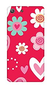 ZAPCASE Printed Back Cover for Sony Xperia M5