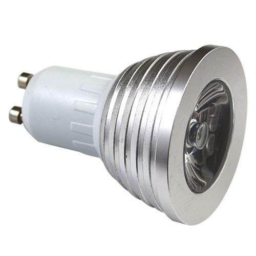 4W Gu10 Rgb Light Led Light Bulb Lamp 16 Color Power Saving Ir Remote Control