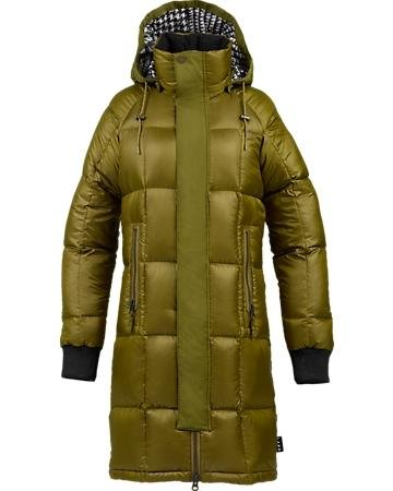 Burton Lamb Insulator Jacket Women - Color:Olive - Talla:M - 2014
