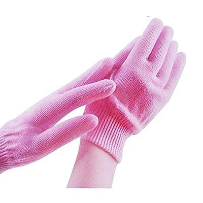 LISEN Breathable Ultra Moisturizing Hand Gloves in Retail Packaging (Pink)
