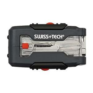 Swiss+Tech TFWCSCH Transformer Micro-Wrench 7-in-1 Pocket Tool Kit