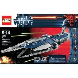 LEGO Star Wars 9515 The Malevolence With Twin Quick-Fire Missile Launchers And Six Mini-Figures Jouets, Jeux, Enfant, Peu, Nourrisson