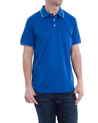 Polo McGregor Jens Solid Basic Blu M Blue