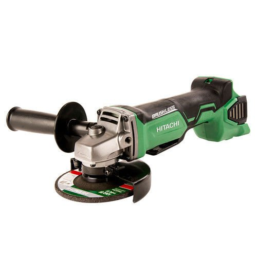 "New Hitachi 18V Lithium-Ion Brushless 4-1/2"" Angle Grinder (Bare) G18DBALP4 New"