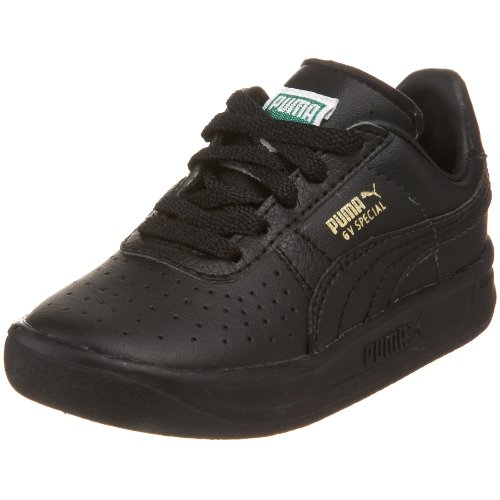 PUMA Gv Special Fashion Sneaker (Toddler/Little Kid),Black/Black/Metallic Gold,7 M US Toddler