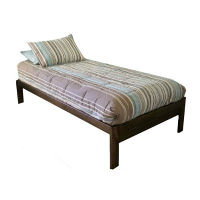 Santa Cruz Twin Xl (Extra Long) Bed - Rustic Walnut