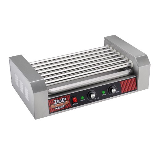 Great Northern Commercial Quality 18 Hot Dog and 7 Roller Grilling Machine, 1400-Watt (Hot Dog Roller Grilling Machine compare prices)