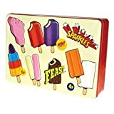 Wall's Classics Lollies Rectangle Biscuit/Cake Tin
