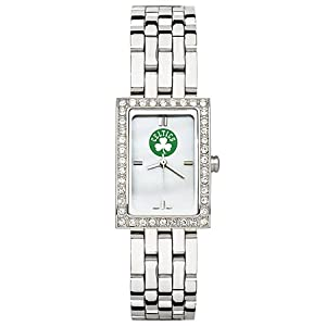 CZNSW22308Q-w-Boston Celtics Watch - Stainless Steel & Cubic Zirconia by NBA Officially Licensed
