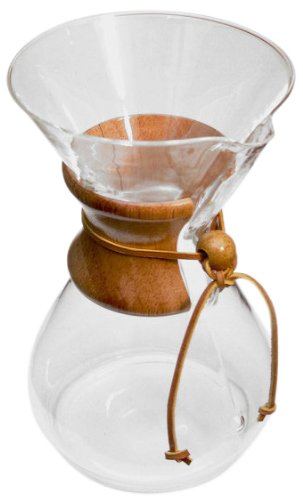 Discover Bargain Chemex 6-Cup Classic Series Glass Coffee Maker