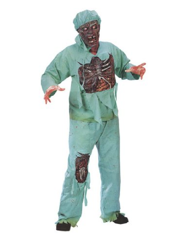Fun World Mens Zombie Doctor Adult Plus Costume