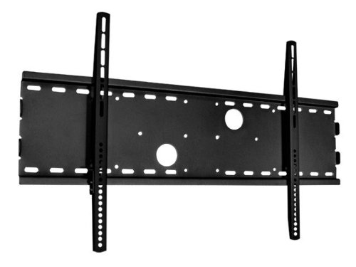 Monoprice Low Profile Wall Mount Bracket For Lcd Led Plasma (Max 165Lbs, 30~63Inch) - Black