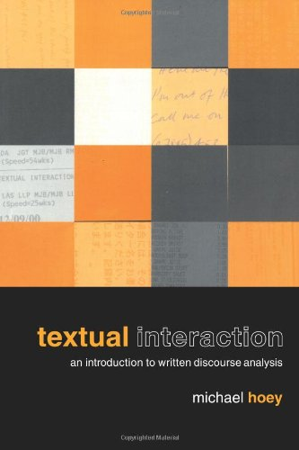 Textual Interaction: Pacifism and Revolution, 1916-18: An Introduction to Written Discourse Analysis