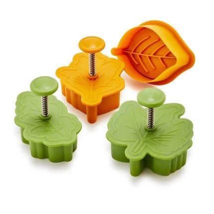 Sur La Table Leaf Pie Crust Cutters PC-068 , Set of 4 (Pie Decorating Set compare prices)