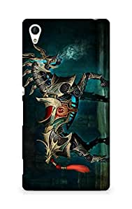 Amez designer printed 3d premium high quality back case cover for Sony Xperia Z4 (Cool Horse wide)