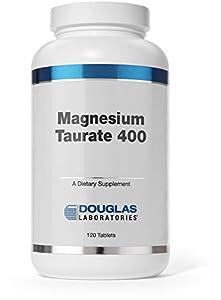 Douglas Laboratories Magnesium Taubate 400 Tablets, 120 Count