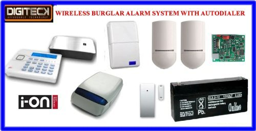 Tc102- Scantronic Ion-16 Wireless Intruder Alert Burglar Alarm Autodialer System front-562590