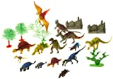 Wild Republic Dinosaur Bucket with 23 pieces