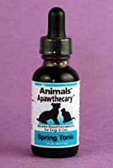 Animal Essential APAWTHECARY SPRING TONIC (Alergy) 1 oz - For Dogs & Cats