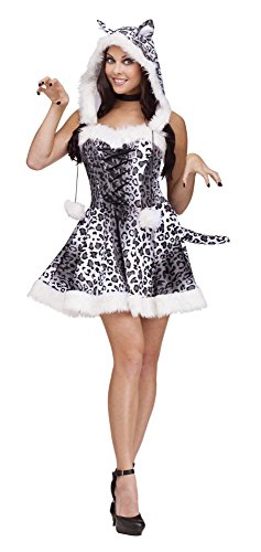 Fun World Costumes Women's Snow Leopard Adult Costume